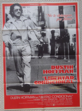 Straight Time, Original Spanish Movie Poster, Dustin Hoffman, Gary Busey, '78